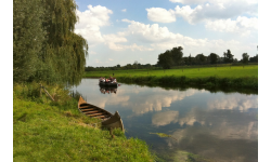Canoeing on the Niers